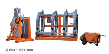 Butt Fusion for Pressure Pipe | RITMO | Plastic Welding Machines